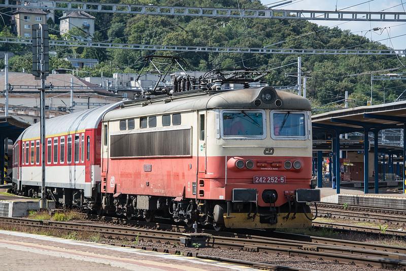 CD 242-252 Bratislava Hlavni Stanica 28 August 2014