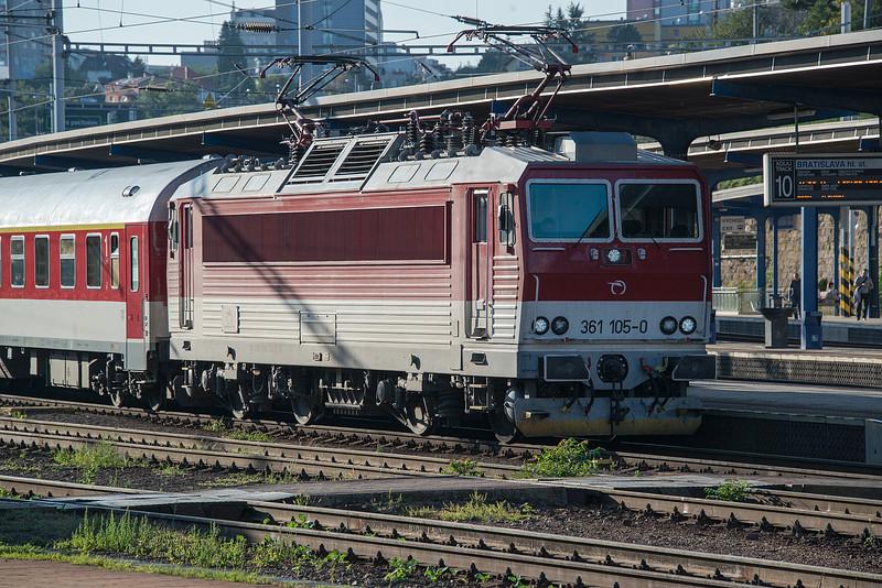 ZS 361-105 Bratislava Hlavni Stanica 27 August 2014