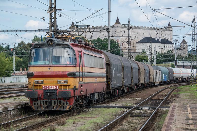 ZS Cargo 240-029 Zvolen 29 August 2014