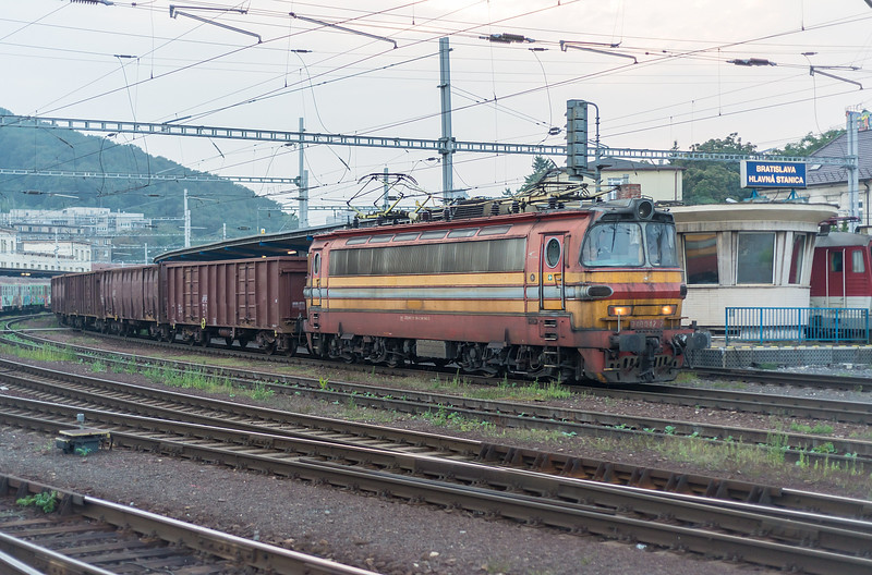 ZS 240-042 Bratislava Hlavni Stanica 3 September 2014