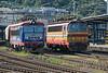 Lokorail 242-555 + ZS 240-142 Bratislava Hlavni Stanica 28 August 2014