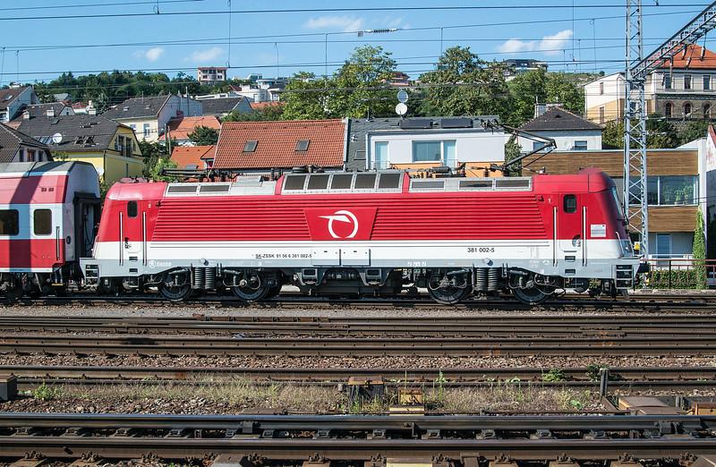 ZS 381-002 Bratislava Hlavni Stanica 28 August 2014