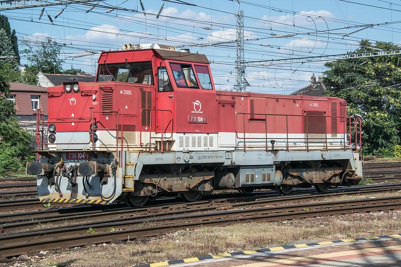 ZS 736-104 Bratislava Hlavni Stanica 28 August 2014