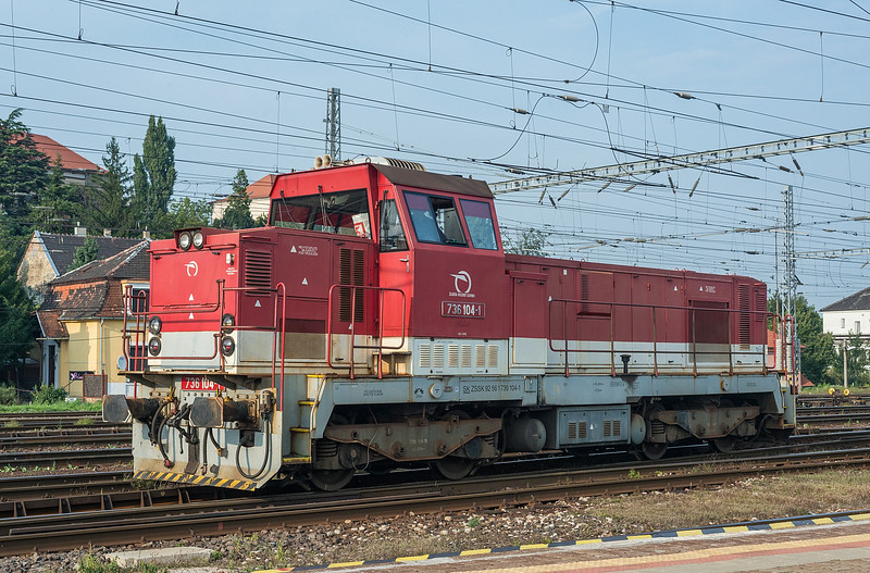 ZS 736-104 Bratislava Hlavni Stanica 3 September 2014