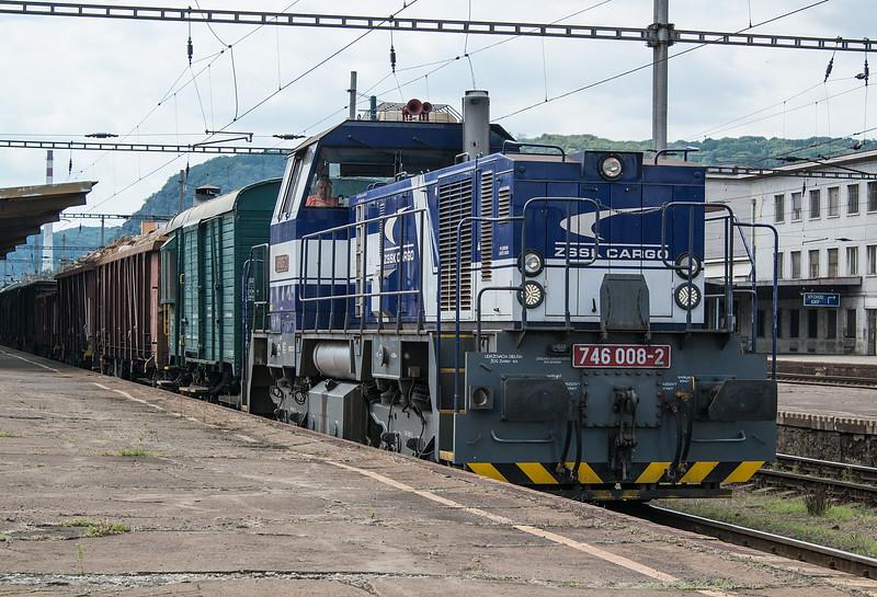 ZS Cargo 746-008 Zvolen 29 August 2014