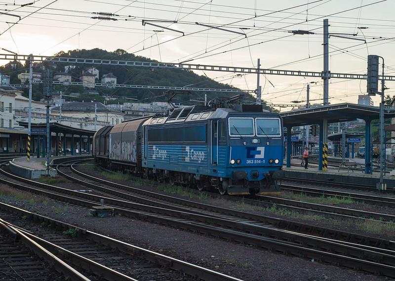 CD Cargo 363-514 Bratislava Hlavni Stanica 29 August 2014