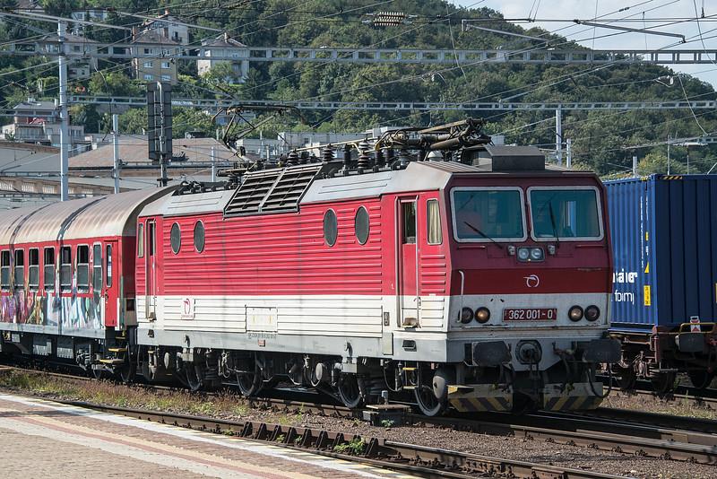 ZS 362-001 Bratislava Hlavni Stanica 28 August 2014