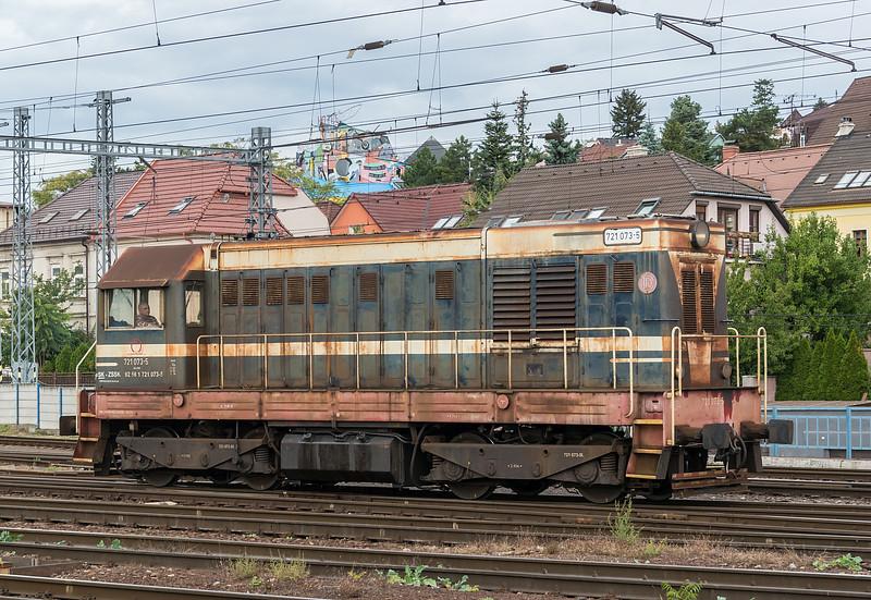 ZSSK 721-073 Bratislava 10 October 2019