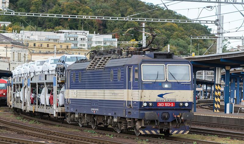 ZSSKC 363-103 Bratislava 10 October 2019
