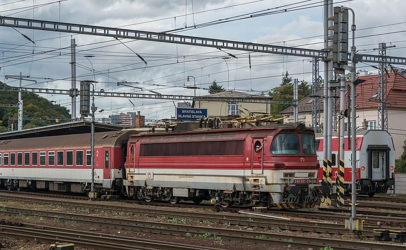 ZS 240-081 Bratislava H S 10 October 2019