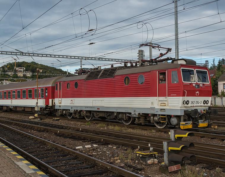 ZSSK 362-014 Bratislava 10 October 2019