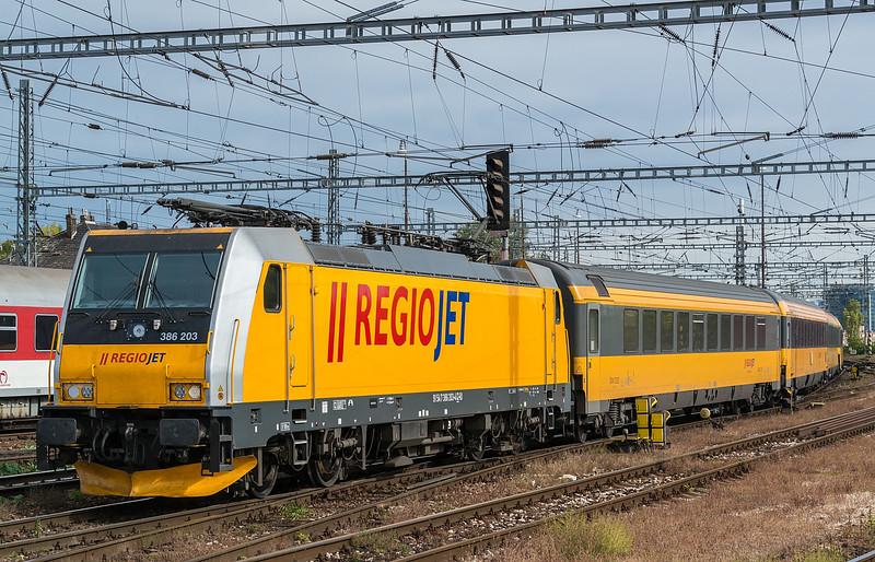 RegioJet 386-203 Bratislava 10 October 2019