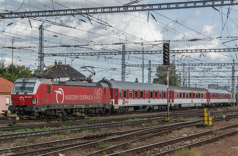 S-Rail/ZSSK 383-107 Bratislava 10 October 2019
