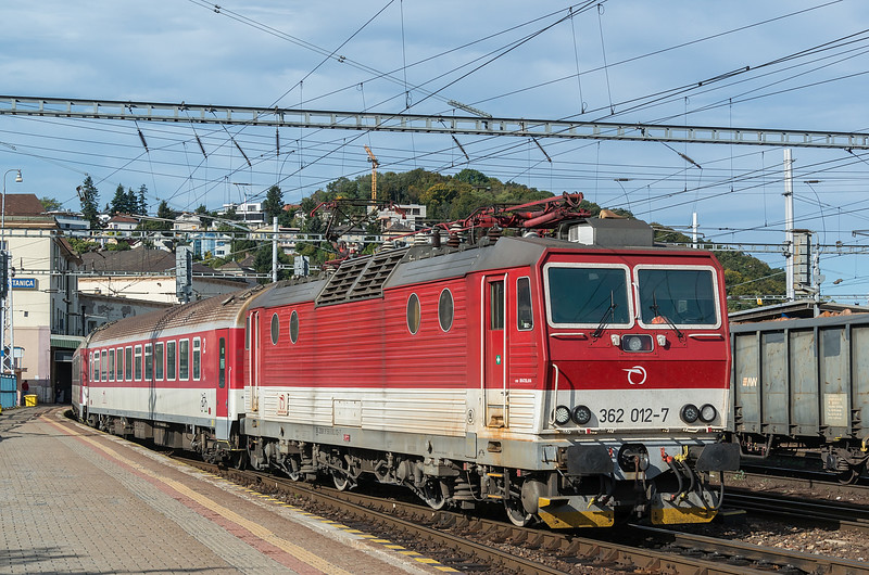 ZSSK 362-012 Bratislava 10 October 2019