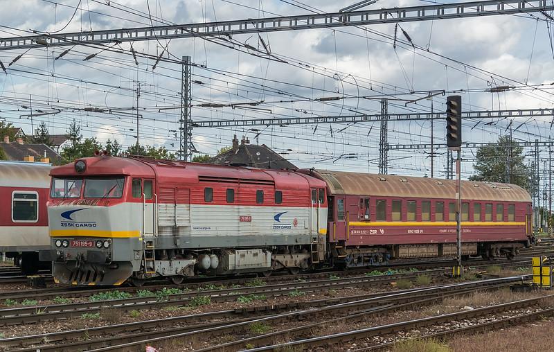 ZS 751-195 Bratislava H S 10 October 2019