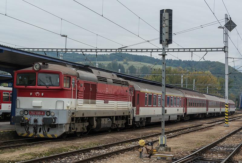 ZSSK 757-010 BanskaBystrica