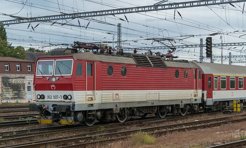ZSSK 362-007 Bratislava 10 October 2019