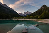 Sunrise at Lake Jasna