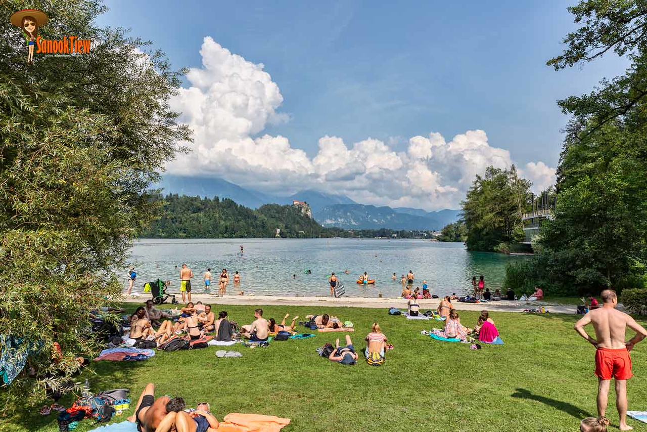 เที่ยว Lake Bled ทะเลสาบเบลด เบลด สโลวีเนีย Slovenia ยุโรป Europe