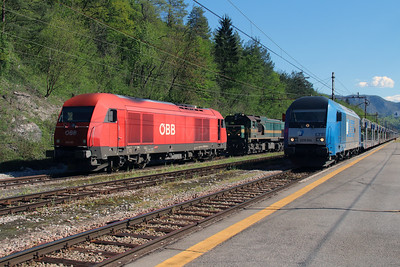 2016 081 & 2016 904 at Borovnica on 21st April 2015 (3)
