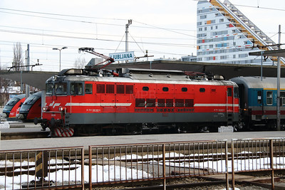 1) 342 001 (91 79 1342 001-9) at Ljubljana on 25th January 2013