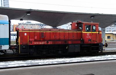 3) 732 185 (98 79 3732 185-7) at Ljubljana on 26th January 2013