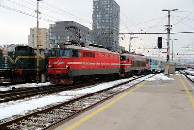 342 014 at Ljubljana on 26th January 2013