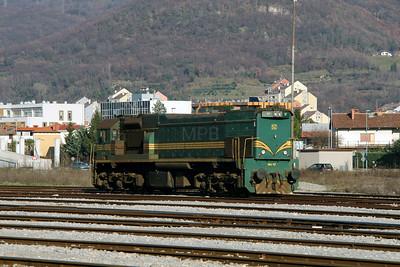 664 117 at Nova Gorica on 25th January 2013
