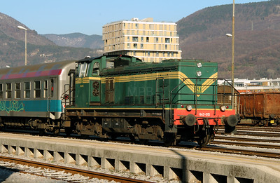 2) 643 015 (98 79 2643 015-6) at Nova Gorica on 25th January 2013