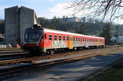 814 116 at Nova Gorica on 25th January 2013