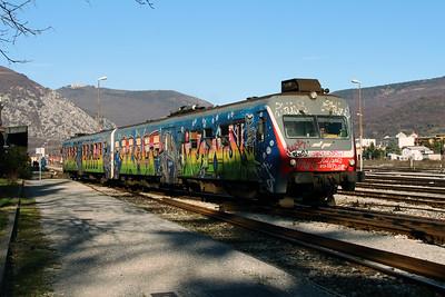 813 102 at Nova Gorica on 25th January 2013 working LP4223 1410 Nova Gorica to Sezana