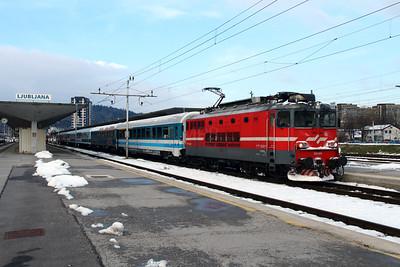 2) 342 001 (91 79 1342 001-9) at Ljubljana on 25th January 2013