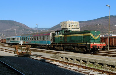 1) 643 015 (98 79 2643 015-6) at Nova Gorica on 25th January 2013