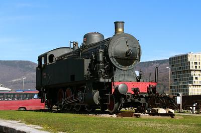 1) steam, 118 005 at Nova Gorica on 25th January 2013