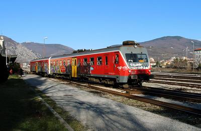 2) 813 116 at Nova Gorica on 25th January 2013