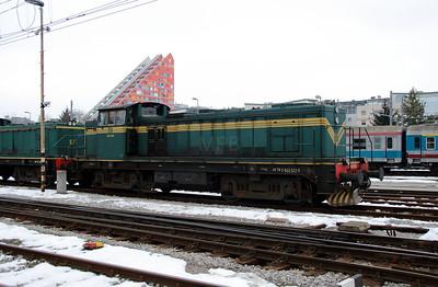 643 033 (98 79 2643 033-9) at Ljubljana on 26th January 2013