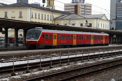 715 105 at Ljubljana on 26th January 2013