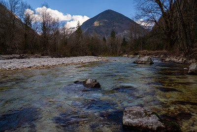 The rivers in Slovenia run fast, cold, and clear