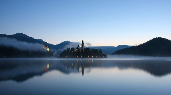 Sunrise, Lake Bled, Slovenia