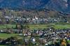 The village of Podhom, Slovenia, Europe.