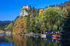 The hilltop castle at Bled, Slovenia.