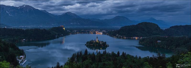 Evening Bled | Вечерний Bled