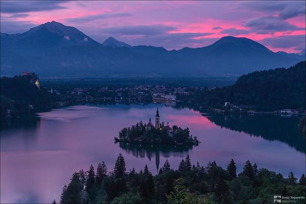 Morning on the Lake | Утро на озере