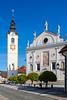 Church of Immaculate Conception, Sutna Street, Kamnik, Slovenia, Europe.
