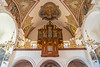 Interior of the Church of Immaculate Conception, Sutna Street, Kamnik, Slovenia, Europe.