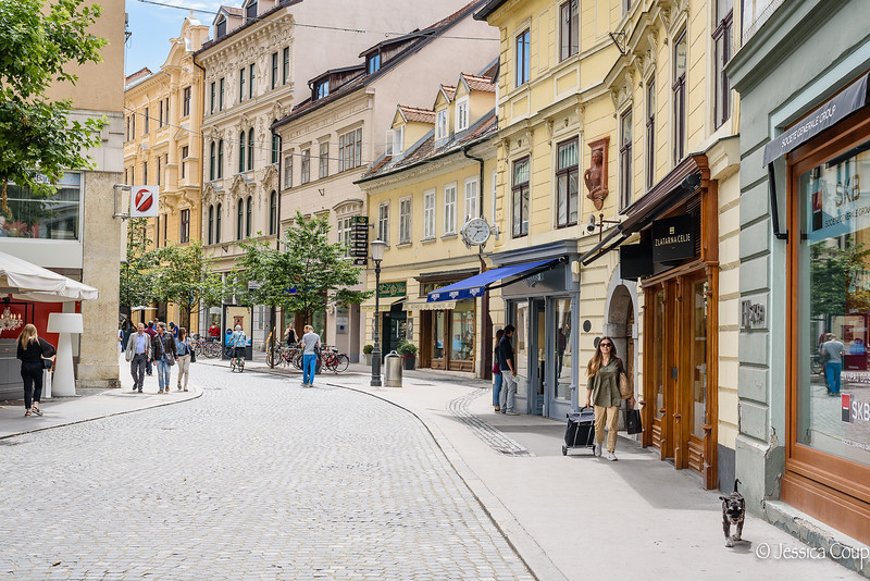 Shops of Ljubljana
