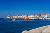 A view of the harbour in the  medieval city of Piran, Slovenia, Europe.