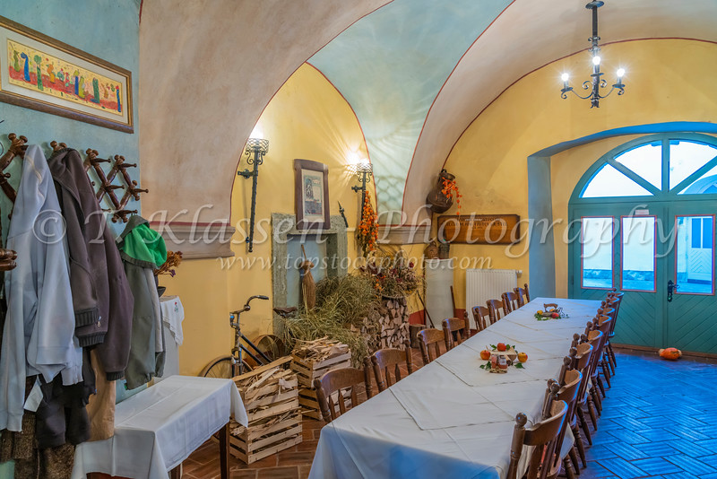 Interior of the Gingerbread Museum and Restaurant in Radovljica, Slovenia, Europe.
