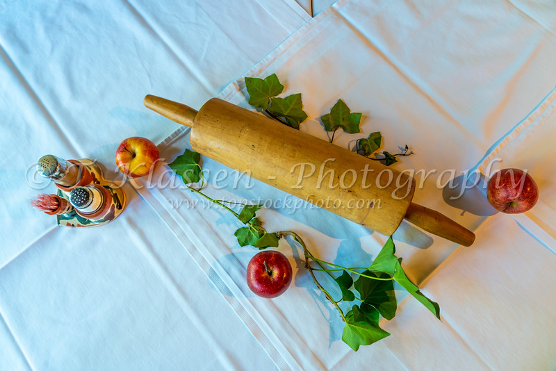 A table centerpiece at the Gingerbread Museum restaurant in Radovljica, Slovenia, Europe.