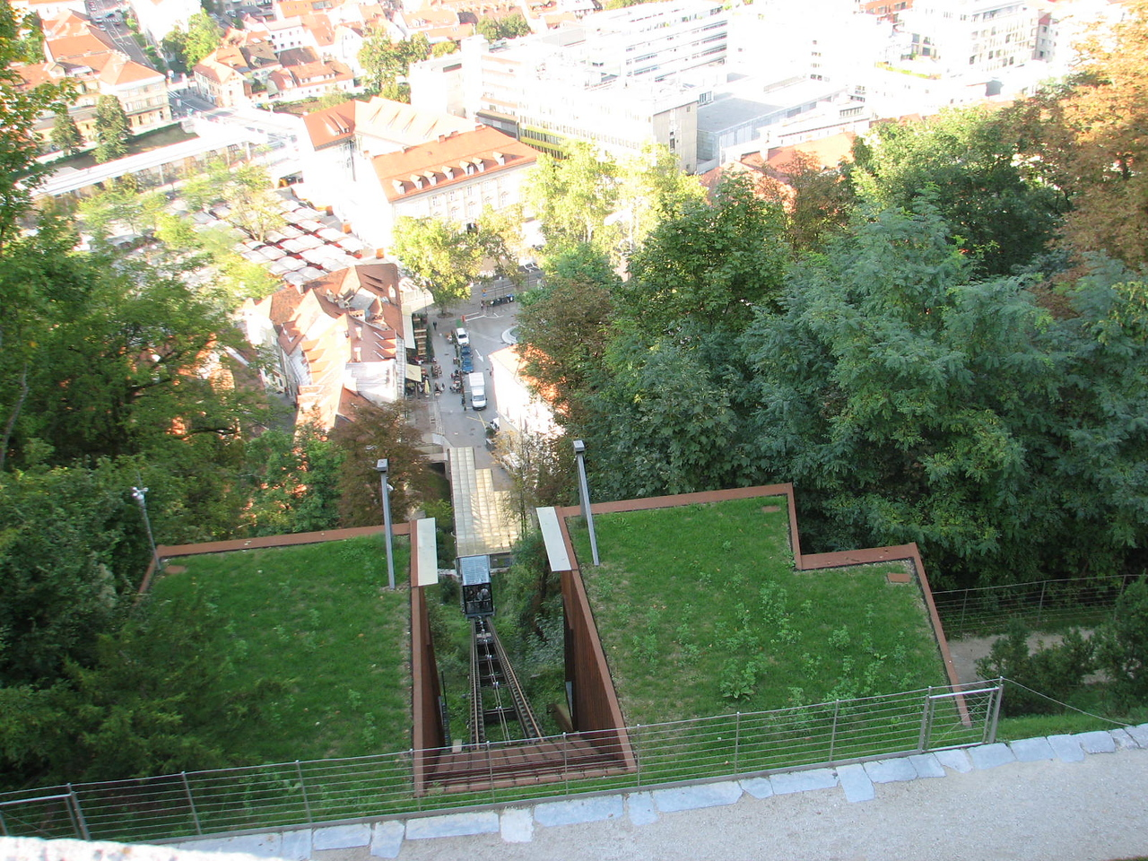 Funicular to the castle